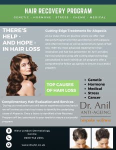 e blast hair recovery